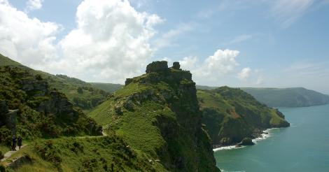 Valley of Rocks viewpoint