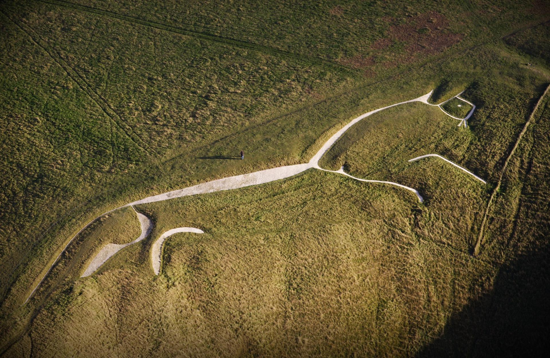 Britain From The Air Uffington White Horse